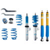 Bilstein B16 PSS10 Coilover Kit - VW Golf Mk7 'R'/GTI (5G) & S3/A3 8V Multi-link Axle 50mm Strut Diameter - 48-251570