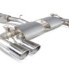 Scorpion VW Golf MK7 R 2.0L (14-16) Resonated Cat-Back Exhaust with Electronic Valves- Polished Quad Monaco Tips - SVW046