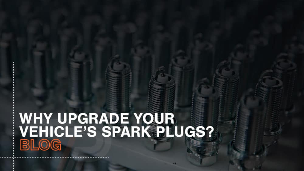 Why upgrade a cars spark plugs?