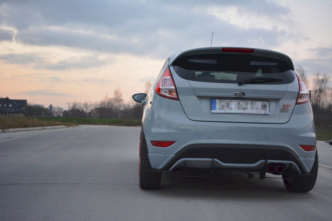 SD PERFORMANCE FORD FIESTA Mk7.5 1.0 Eco-Boost Crossover pipe-Poli Finition