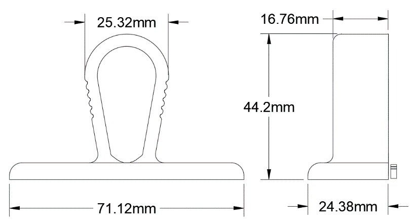 Numberplate Clips